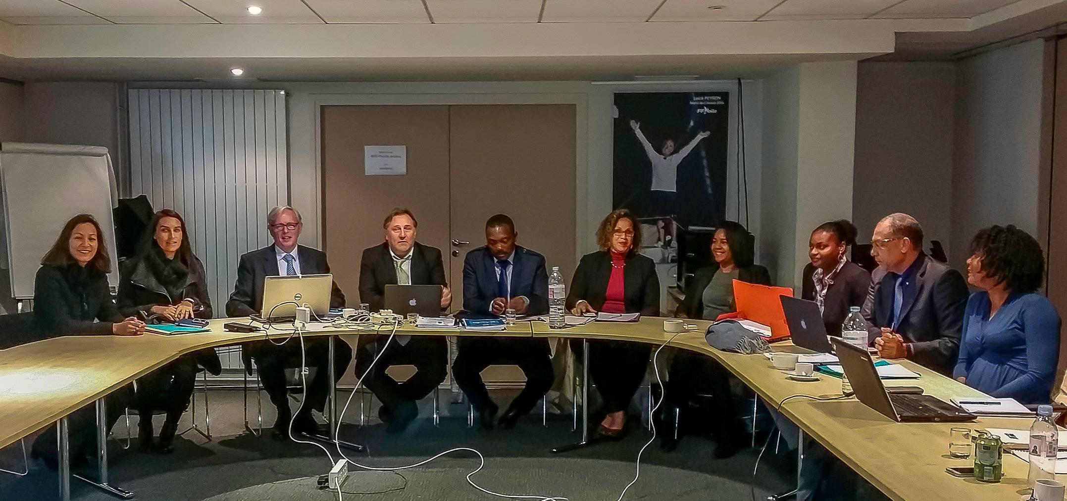 Nautic 2016 – Réunion de travail des partenaires du projet «Odyssea Croissance Bleue et Verte Caraïbes» et Présentation des actions au MAEDI