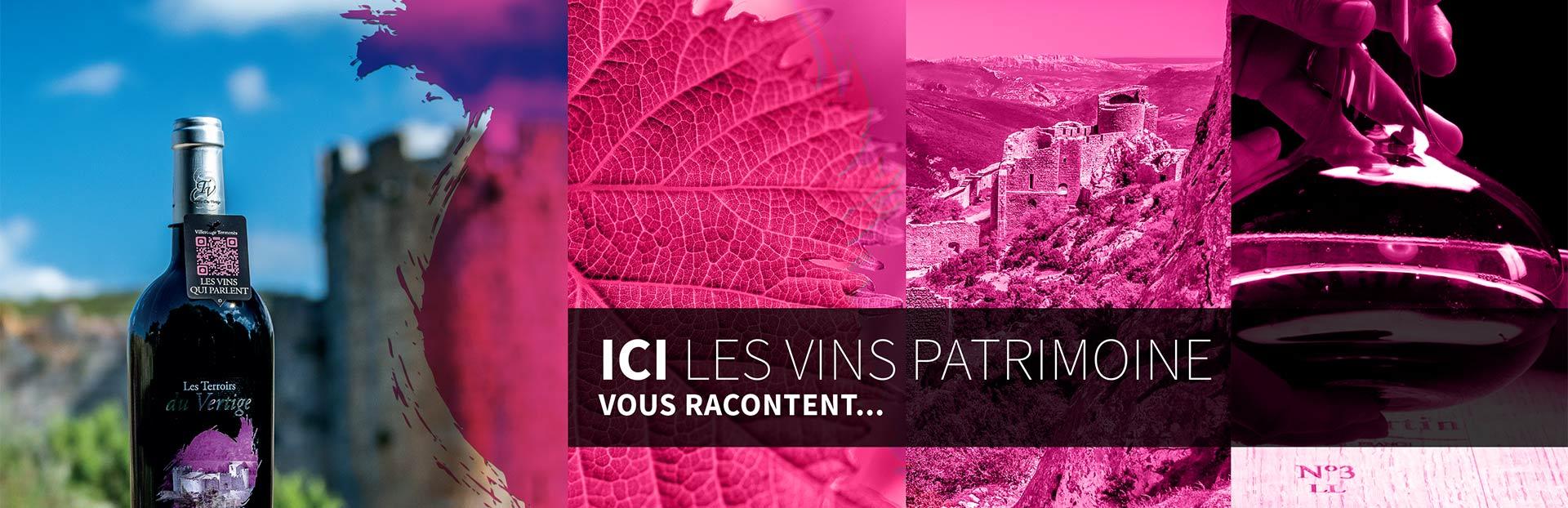 Février – L'innovation «Vins Patrimoine» dans la plaquette et le rapport vidéo du programme européen GAL des Vignerons