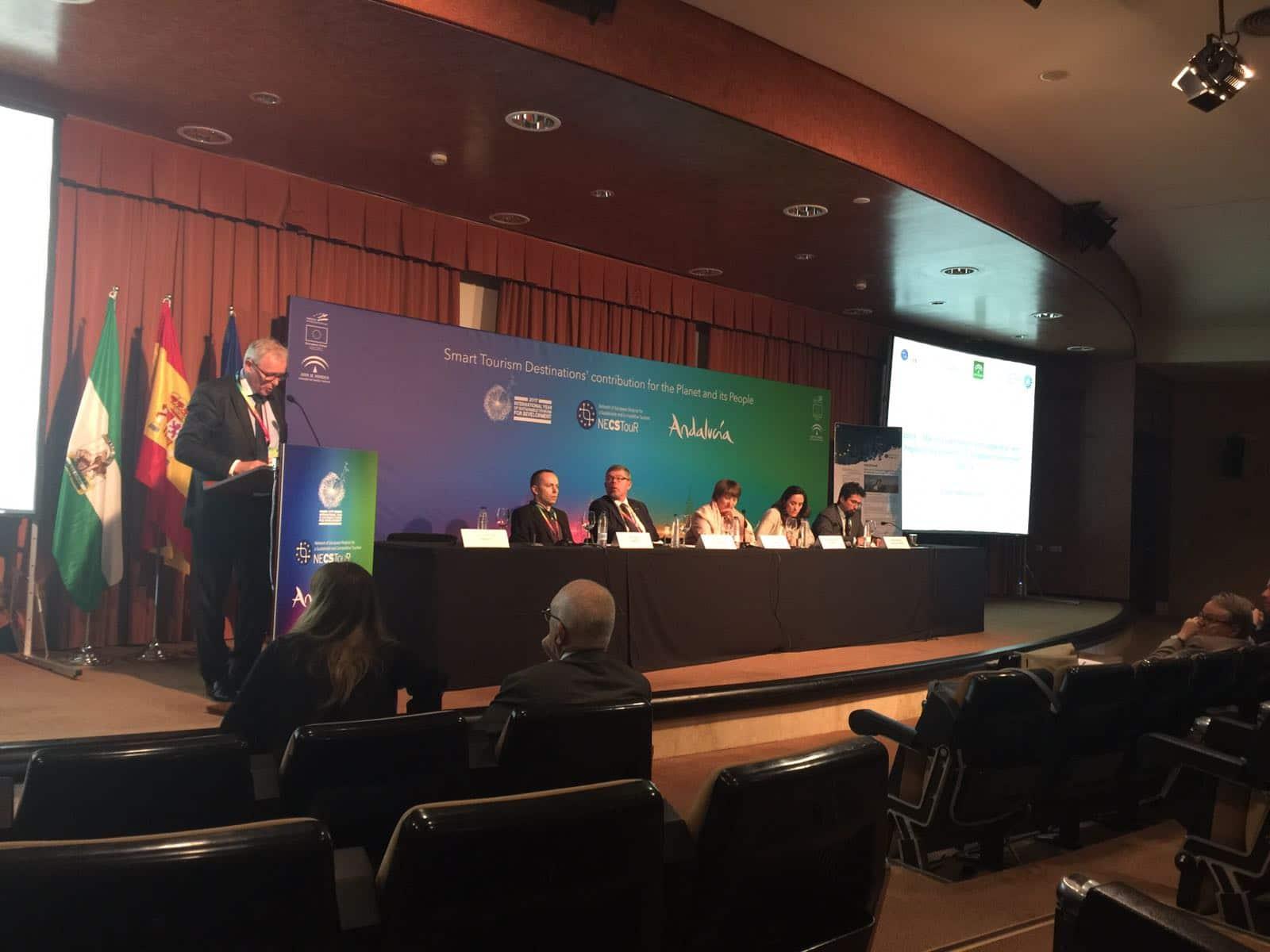 Mars – Intervention d'Odyssea lors de la conférence organisée par l'OMT et le Réseau NECSTouR sur les «Smart destinations»