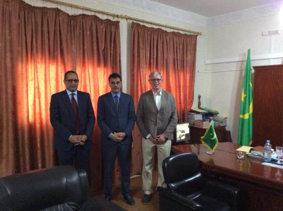 Novembre 2017 – Présentation en Mauritanie du projet ECOTUR_AZUL MAC/4.6c/046