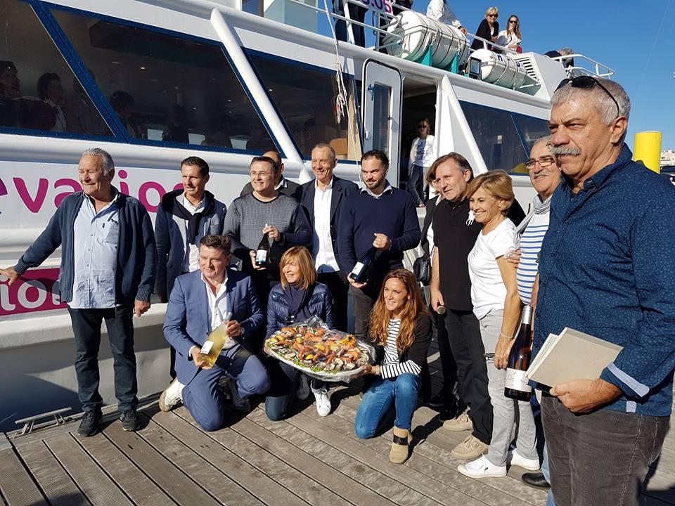 Octobre 2017 – Avant-première de la Croisière Bleue Odyssea entre Le Barcarès et Banyuls-sur-Mer et sa Fête des Vendanges, avec escale à St-Cyprien