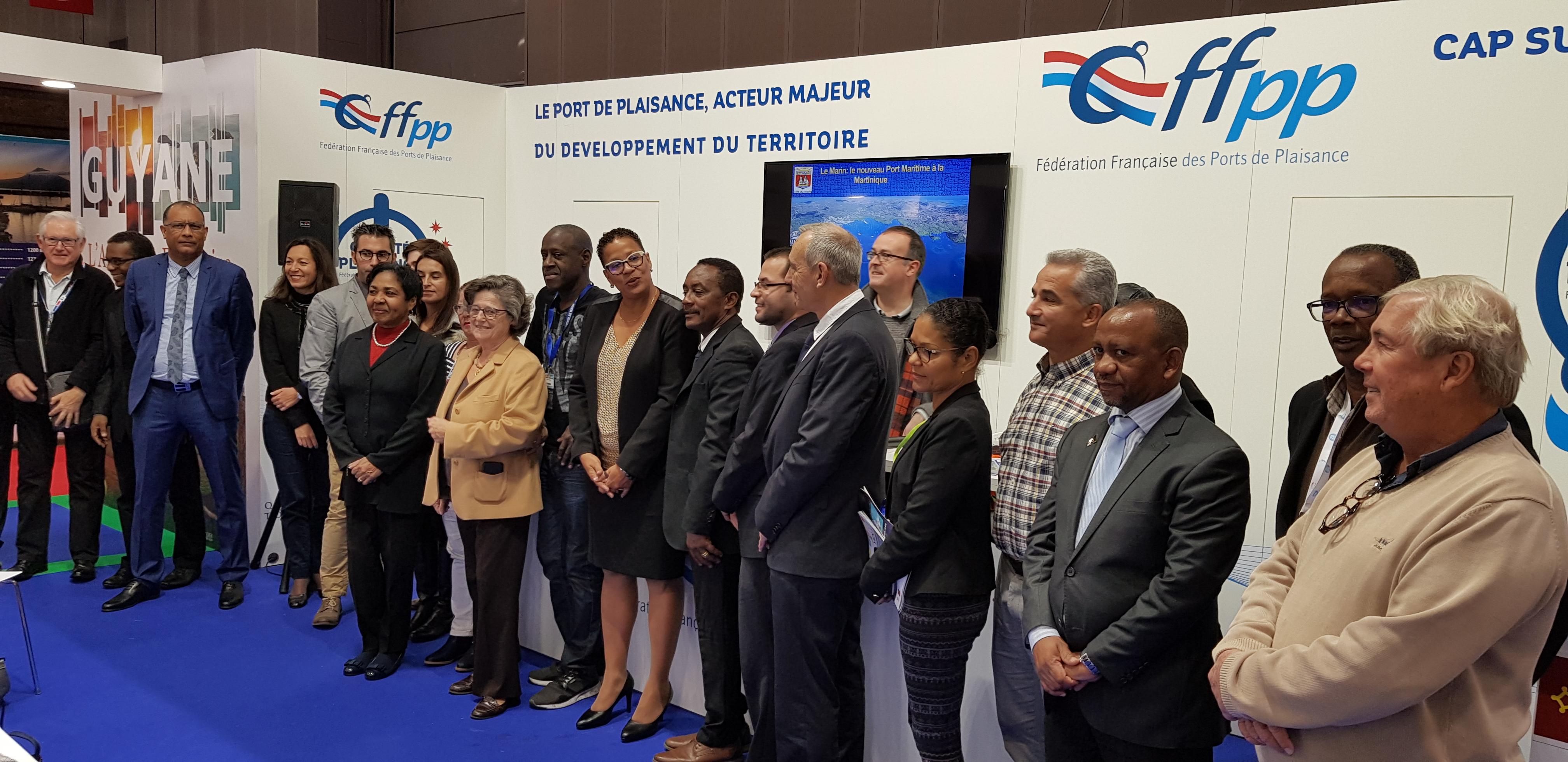 Décembre 2017 – Odyssea Tourisme et Croissance Bleue et Verte «Les Outre- Mer Défis et enjeux d'avenir», au Nautic de Paris