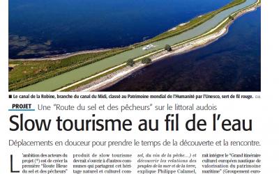Un bel article de presse sur la Route Bleue® du sel et des pêcheurs !