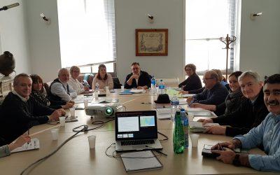Première commission du groupe de travail «Course gourmande» de la Route Bleue® du sel et des pêcheurs