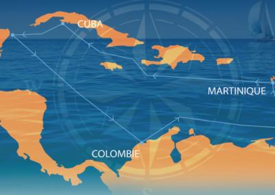 La Route Bleue des Caraïbes