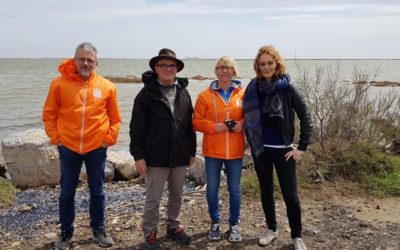 Préfiguration du nouveau parcours de la Course Gourmande de la Route Bleue® du Sel et des Pêcheurs