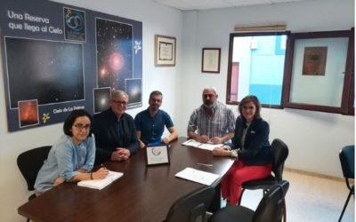 Réunion du Comité du projet ECOTUR-AZUL ODYSSEA MAC 2014-2020, de la municipalité de Santa Cruz de la Palma