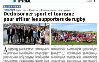 Succès au rendez-vous pour la première de « Jouer groupé Rugby et Tourisme » !