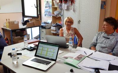 Route Bleue du Sel et des Pêcheurs – Réunion avec Gruissan Sport Evènements sur la Course Gourmande