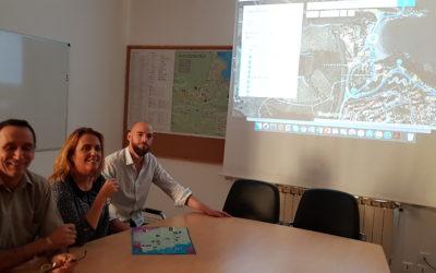 Réunion à Banyuls-sur-Mer autour de sa Route Bleue des Contrebandiers, Marins-pêcheurs et Vignerons en cours de réalisation
