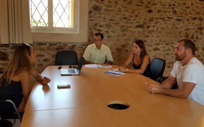 Réunion à Banyuls-sur-Mer autour de l'organisation des Croisières Bleues Odyssea
