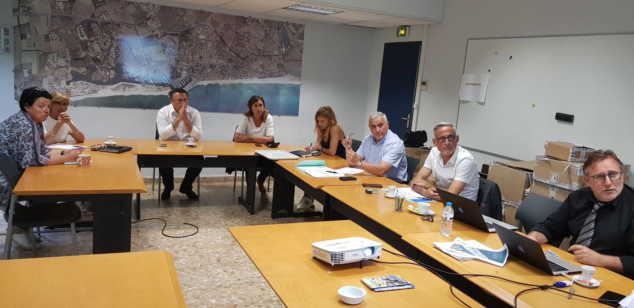 Comité de pilotage sur la réalisation de la Destination Bleue d'Excellence Odyssea Saint-Cyprien / Sud Rousssillon