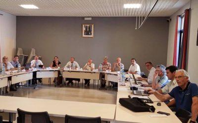 Réunion à Banyuls-sur-Mer, commune pilote du label européen Odyssea qui s'engage dans le Plan Littoral 21 !