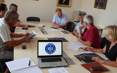 Réunion avec la Mairie de Port-La Nouvelle sur l'organisation de la Course Gourmande de la Route Bleue du Sel et des Pêcheurs®