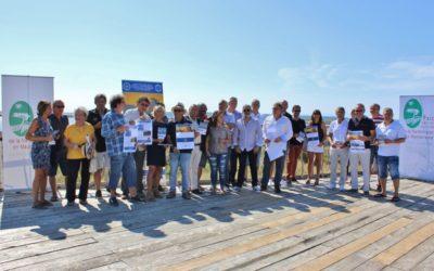 Retour en images sur la conférence de presse de présentation du Week-end Gourmand de la Route Bleue du Sel et des Pêcheurs®