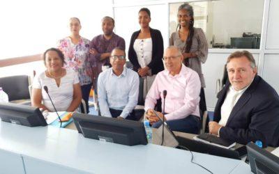 La croissance bleue et verte Odyssea en marche en Guyane !