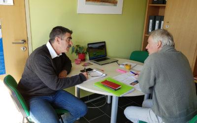 Réunion de travail au Parc naturel régional de la Narbonnaise en Méditerranée