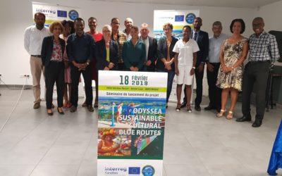 Réunion du Comité Directeur du projet Odyssea Antilles Sustainable Nautical and Cultural Blue Routes