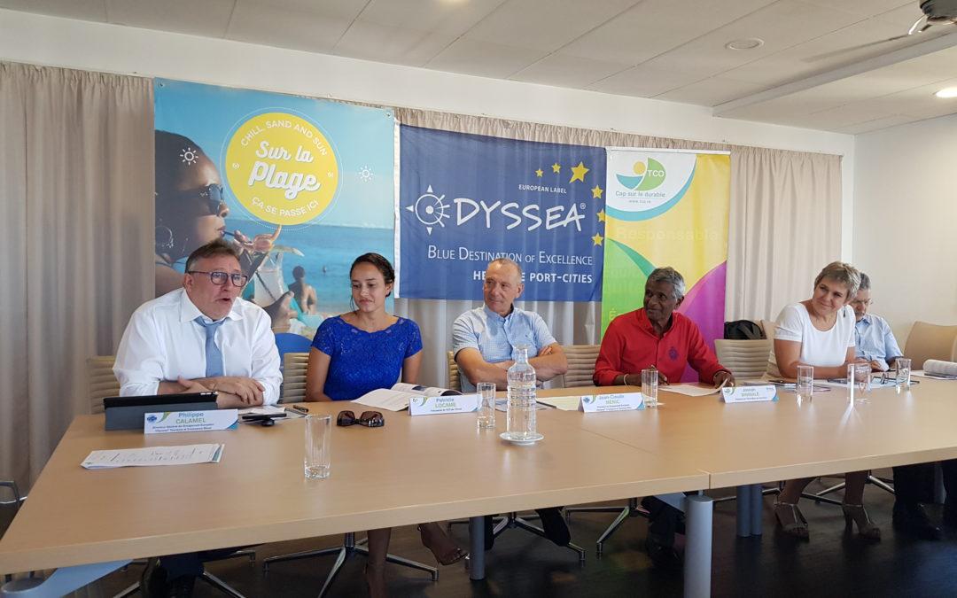 La visite de la délégation Odyssea au Territoire de la Côte Ouest, destination candidate au label, largement relayée dans la presse !