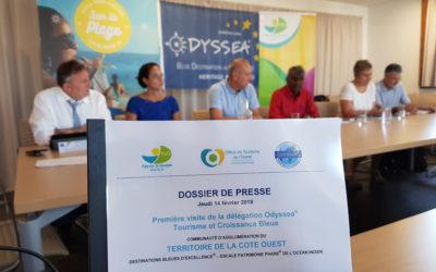 Conférence de presse sur la candidature du Territoire de la Côte Ouest au label européen Odyssea