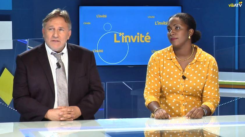 Odyssea Caraïbes dans le grand direct du journal télévisé de ViàATV !