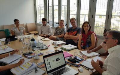 Réunion de travail sur la labellisation Odyssea avec le Territoire de la Côte Ouest et la Ville du Port
