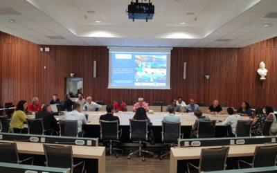 Réunion du Comité de pilotage du projet «Territoire de la Côte Ouest, Destination Bleue d'Excellence Odyssea»
