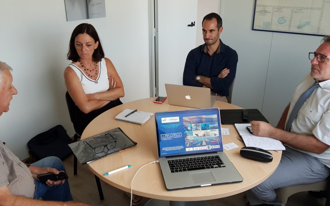 Présentation au Cluster Maritime de La Réunion du Livre Bleu Odyssea du Territoire de la Côte Ouest