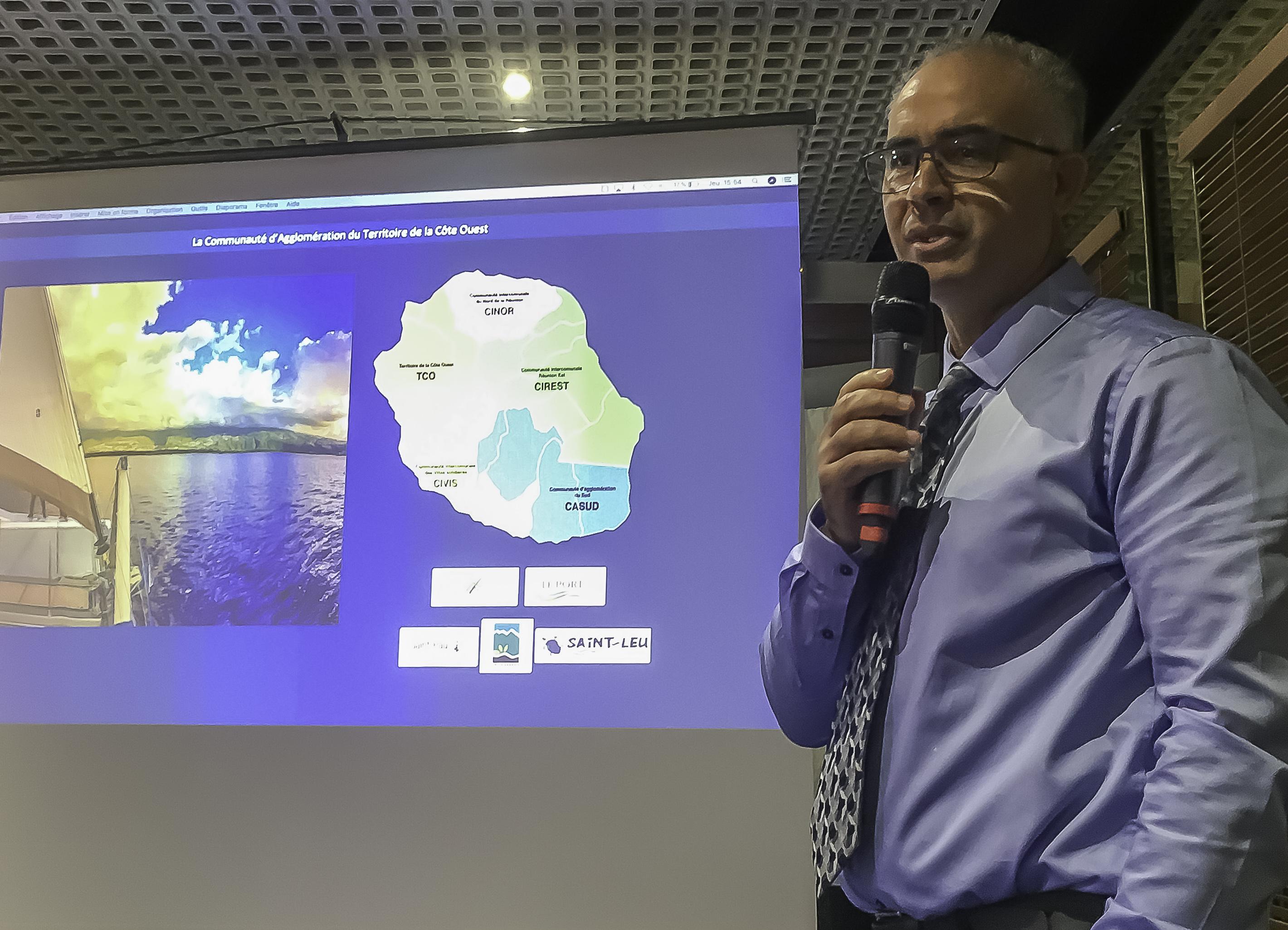 Les projets structurants d'économie bleue durable du Territoire de la Côte Ouest, dans les modèles du label européen Odyssea, mis à l'honneur au «Nautic» de Paris