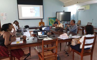 Les ateliers de travail sur les Routes Bleues Mythiques des Antilles sont lancés !