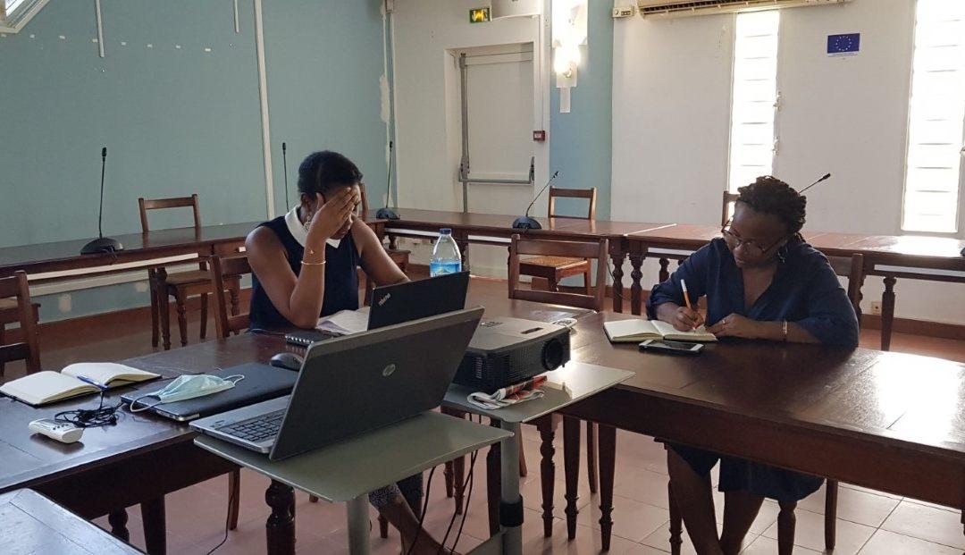 Réunion de travail sur les 8 grandes thématiques d'itinérance multi-destination entre la Martinique et Sainte-Lucie, dans le cadre d'Odyssea Blue Routes