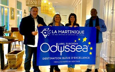 Le Lab'Odyssea de Perpignan reçoit le Vice-Président de l'Espace Sud Martinique