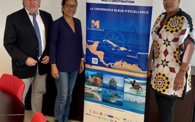 Comité Territorial du Comité Martiniquais du Tourisme, dans le cadre du programme Odyssea Caraïbes Blue Growth Multi-Destination