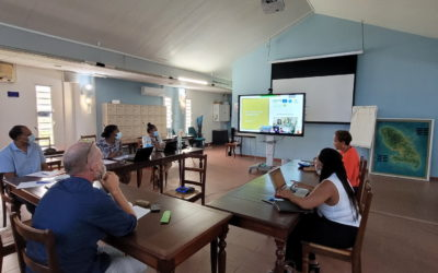 Sur les traces des Amérindiens en mer et sur le littoral… Direction la Martinique pour le Comité Scientifique sur la Route Bleue des Amérindiens