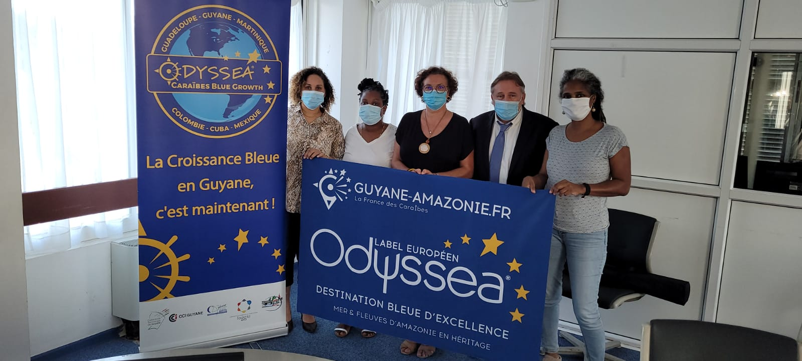 Comité Technique des partenaires guyanais du programme Odyssea Caraïbes Blue Growth Multi-Destination