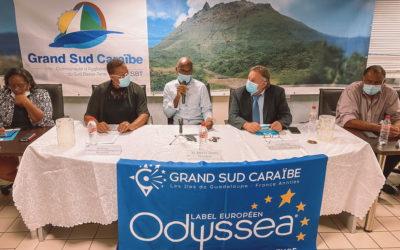 Signature du Contrat Territorial d'Objectifs Grand Sud Caraïbe, pour une «Guadeloupe bleue durable et inclusive»