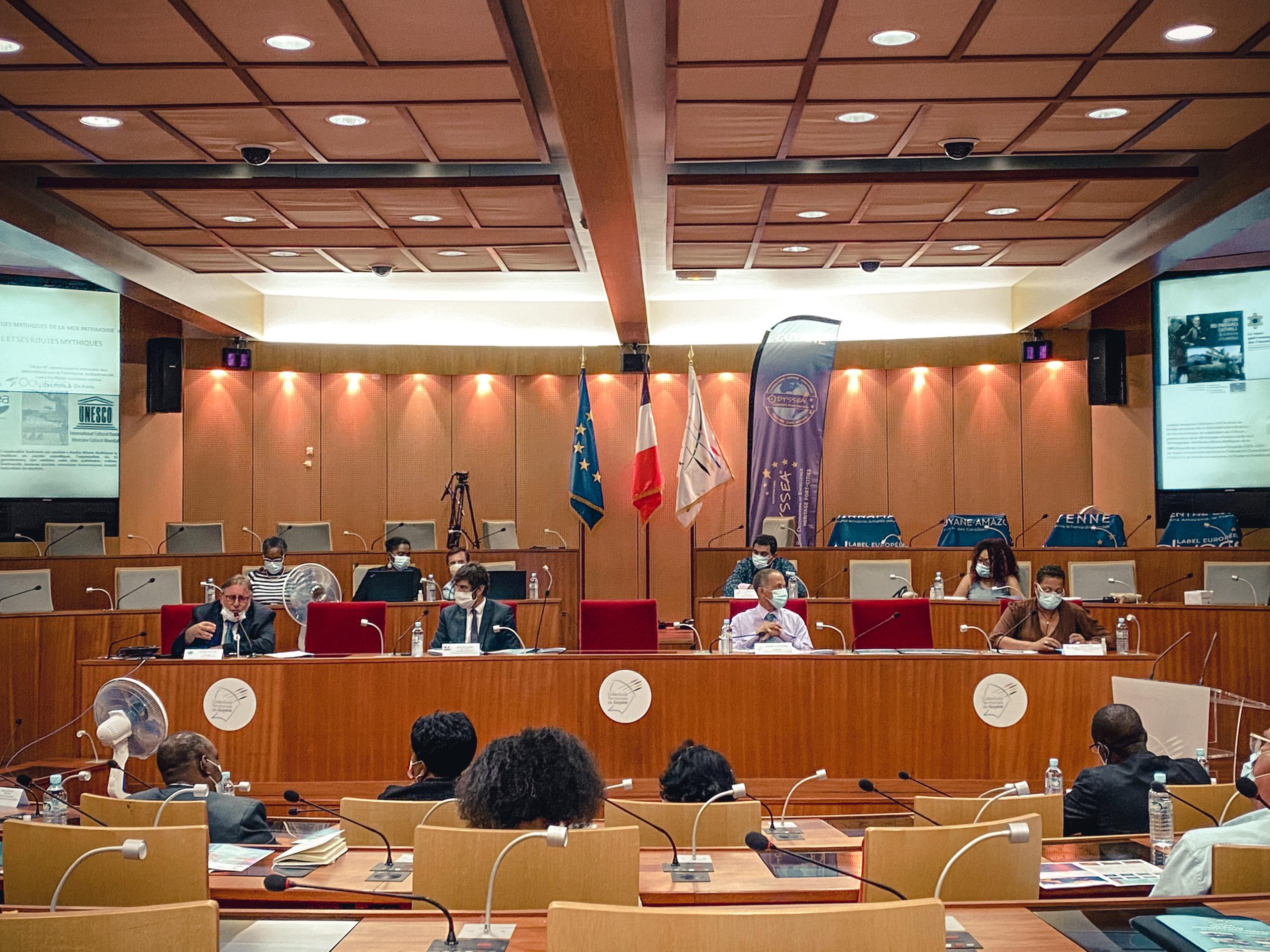 Evènement : Présentation du label européen Odyssea®, appliquée au territoire de la Guyane, en présence des élus