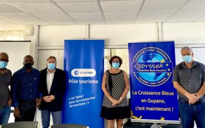 Comité de pilotage dans le cadre du programme Odyssea Blue Growth à la CCI de Région Guyane
