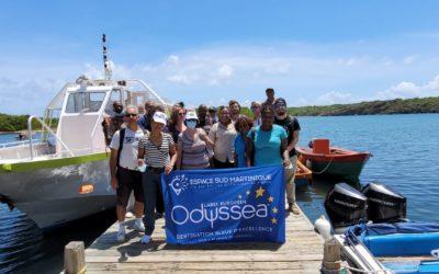 Jour 2 de l'éductour des Routes Bleues Mythiques de la Martinique et des Caraïbes sur le thème de la biodiversité côté Atlantique !