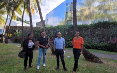 Le CODERUM et la Scic ODYSSEA rencontrent les distilleries Habitation Clément et Maison La Mauny, pour travailler à un spiritourisme innovant