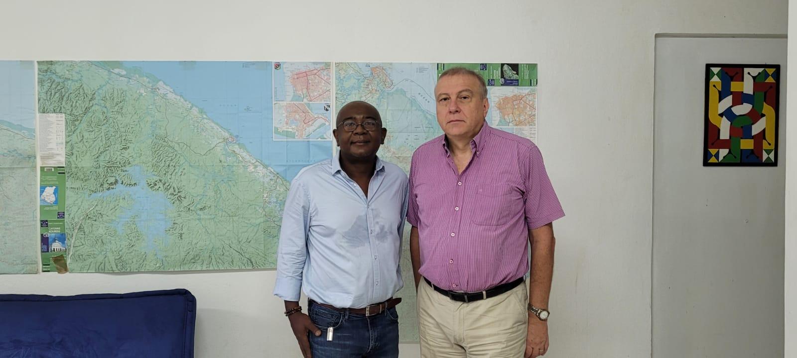 Présentation à Atout France Guyane de la stratégie pour faire de la Destination Guyane une escale internationale unique, une étape incontournable entre mer et fleuve de la Terre d'Amazonie de France et d'Europe au cœur de la Grande Caraïbe et des Amériques