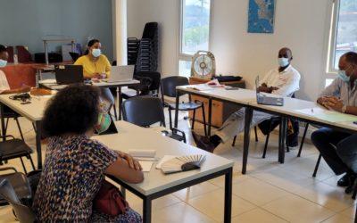 Présentation à l'OTI de Cap Nord Martinique du label européen Odyssea et des Routes Bleues Mythiques, pour une relance touristique inclusive et durable
