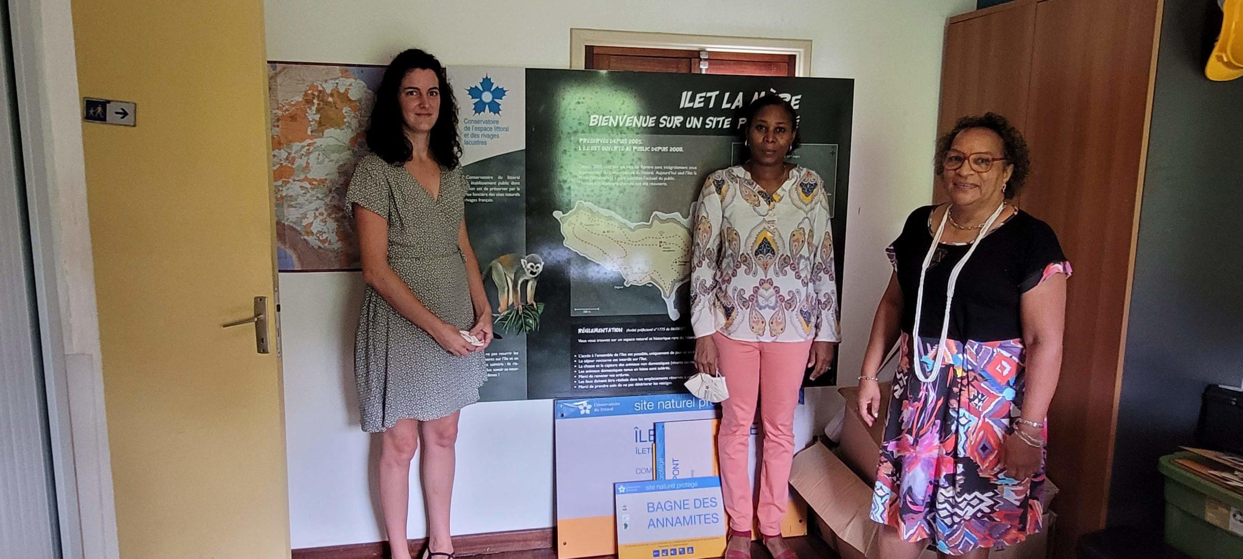 Rencontre avec le Conservatoire du Littoral et le Parc naturel régional de Guyane, pour une Guyane 2030 bleue & verte durable et inclusive