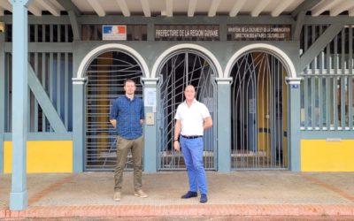 Rencontre entre la Direction des Affaires Culturelles de Guyane et la délégation Odyssea sur la co-construction des Routes Bleues Mythiques de la Guyane, au coeur de l'Amazonie et de la Grande Caraïbe