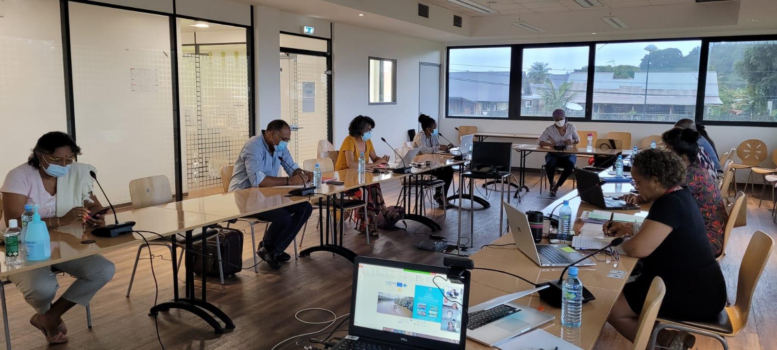 Les partenaires guyanais réunis pour pour bâtir la Guyane Bleue et Verte durable et inclusive de 2030