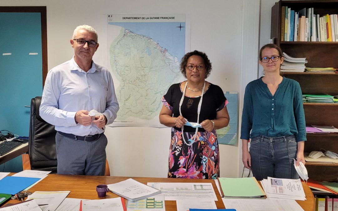 La Collectivité Territoriale de Guyane mobilisée pour faire de la Guyane une Destination Bleue et Verte d'Excellence, au coeur de l'Amazonie et de la Grande Caraïbe
