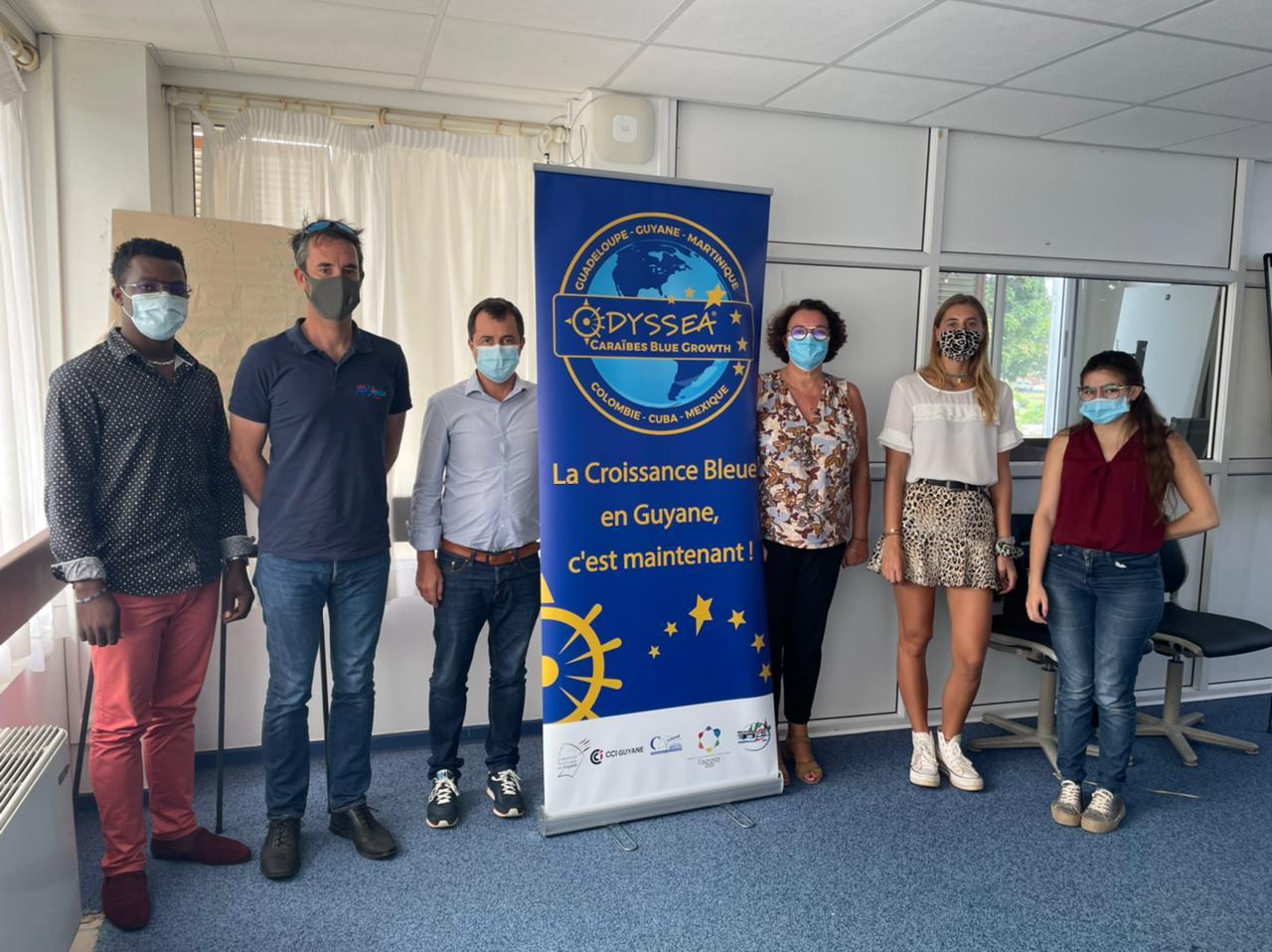 Synthèse des réunions et rendez-vous guyanais de la délégation Odyssea : la Croissance Bleue et Verte est en marche en Guyane !