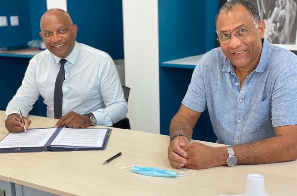 La Chambre de métiers et de l'artisanat Martinique signe un partenariat avec la Scic GE Odyssea pour une croissance bleue durable, au bénéfice de ses membres